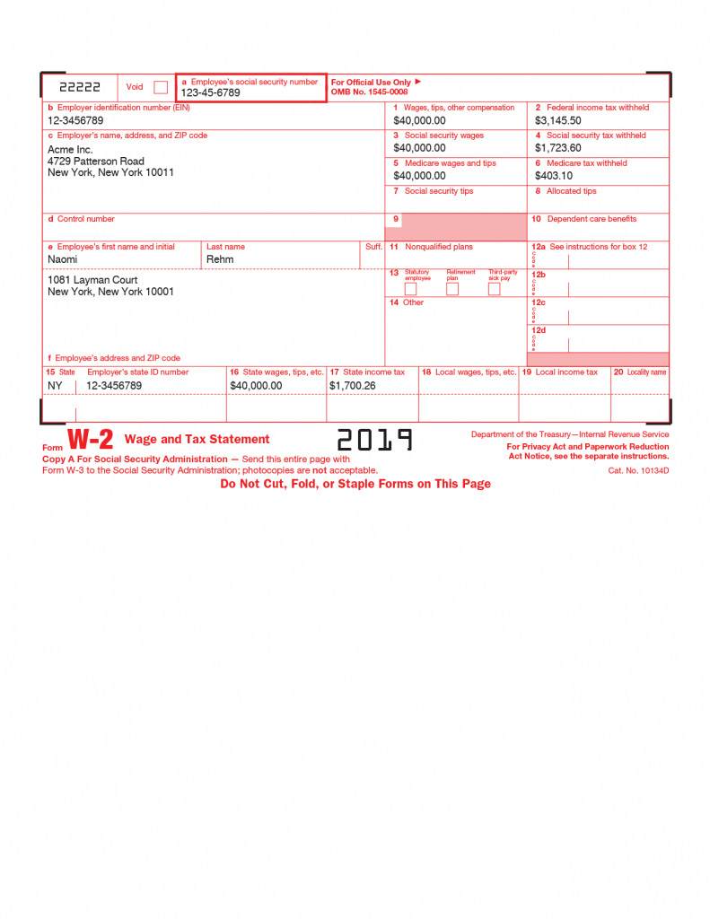 w2 form document  Form W-15