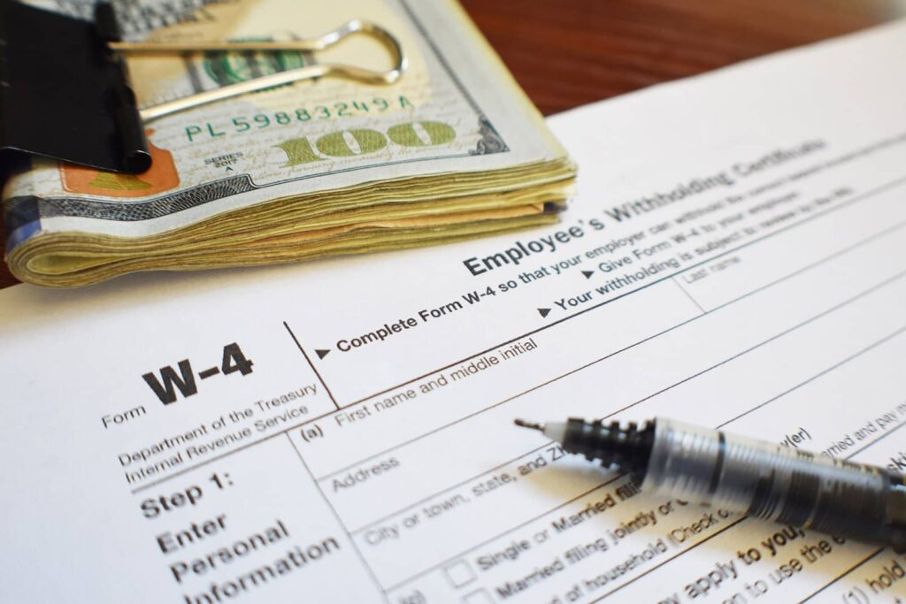 Complete Form W-4