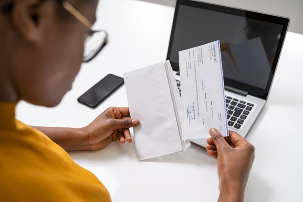 Small Business Payroll Check
